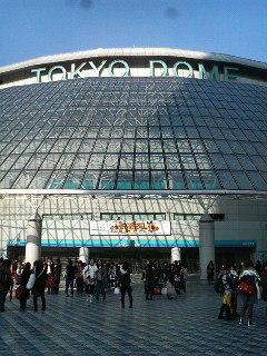 東京ドーム記!1